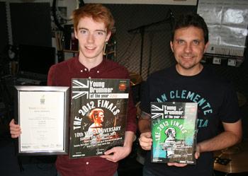 Danny with Nathan Wallington